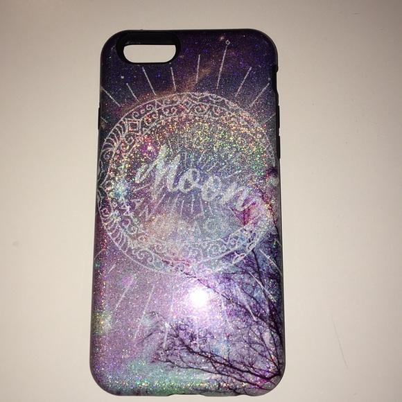 wholesale dealer 68114 a12e5 iPhone 6/6s case Claire's glitter case